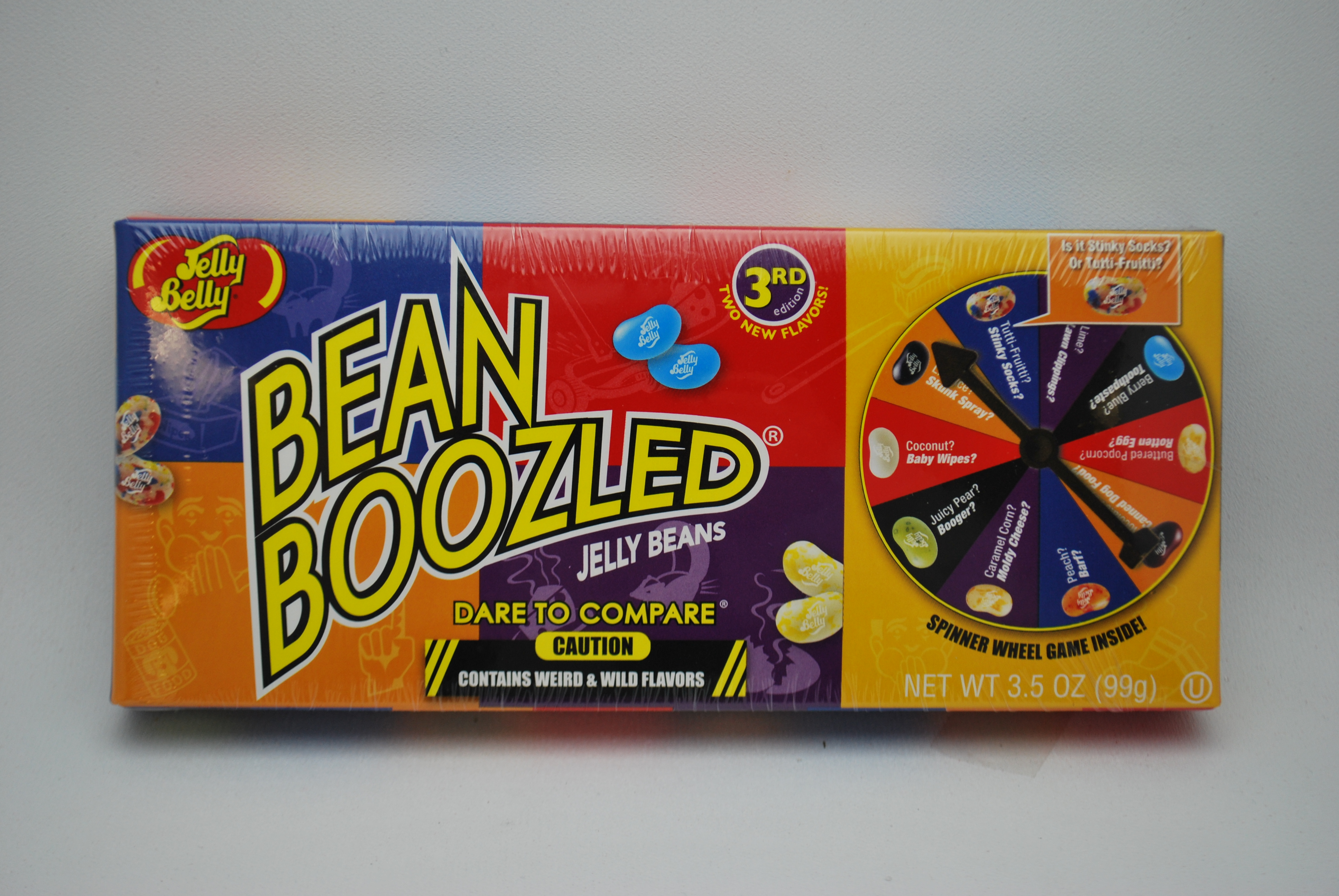 Jelly Belly Bean Boozled Spinner Gift Box Aunty Nellie S
