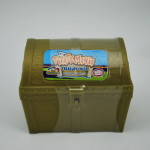 Pirate Mania Chest with Bubble Gum Nuggets Retail