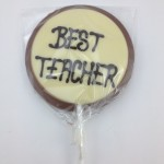 Best Teacher Choc Lolly