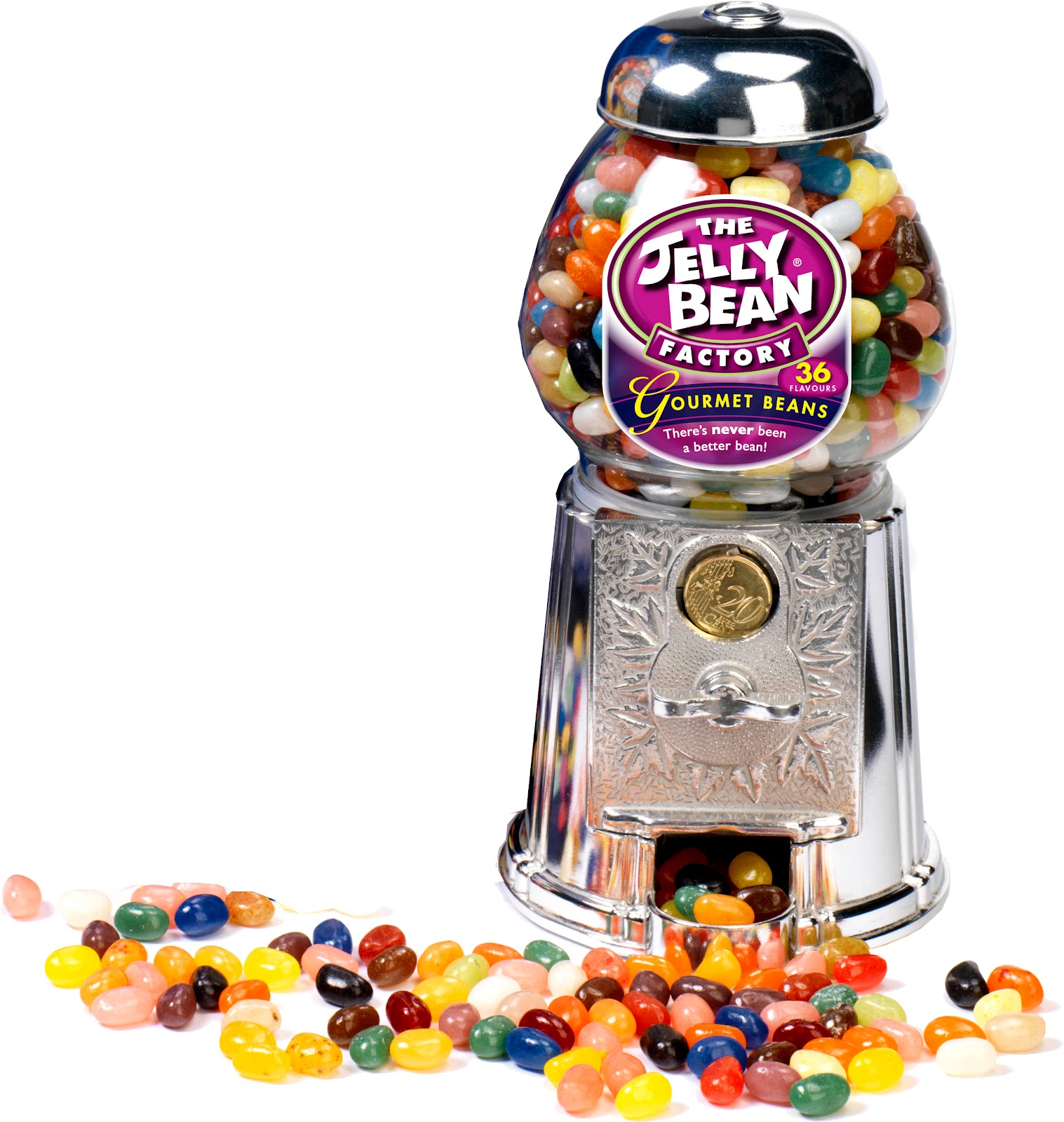 valentines photo box ideas - Jelly Bean Machine with 600g of Gourmet Jelly Beans
