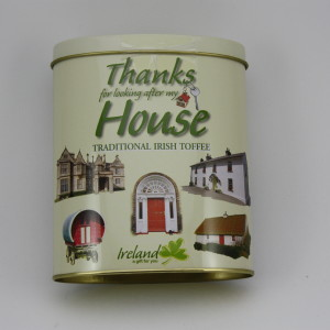 Thanks for Minding My House Tin