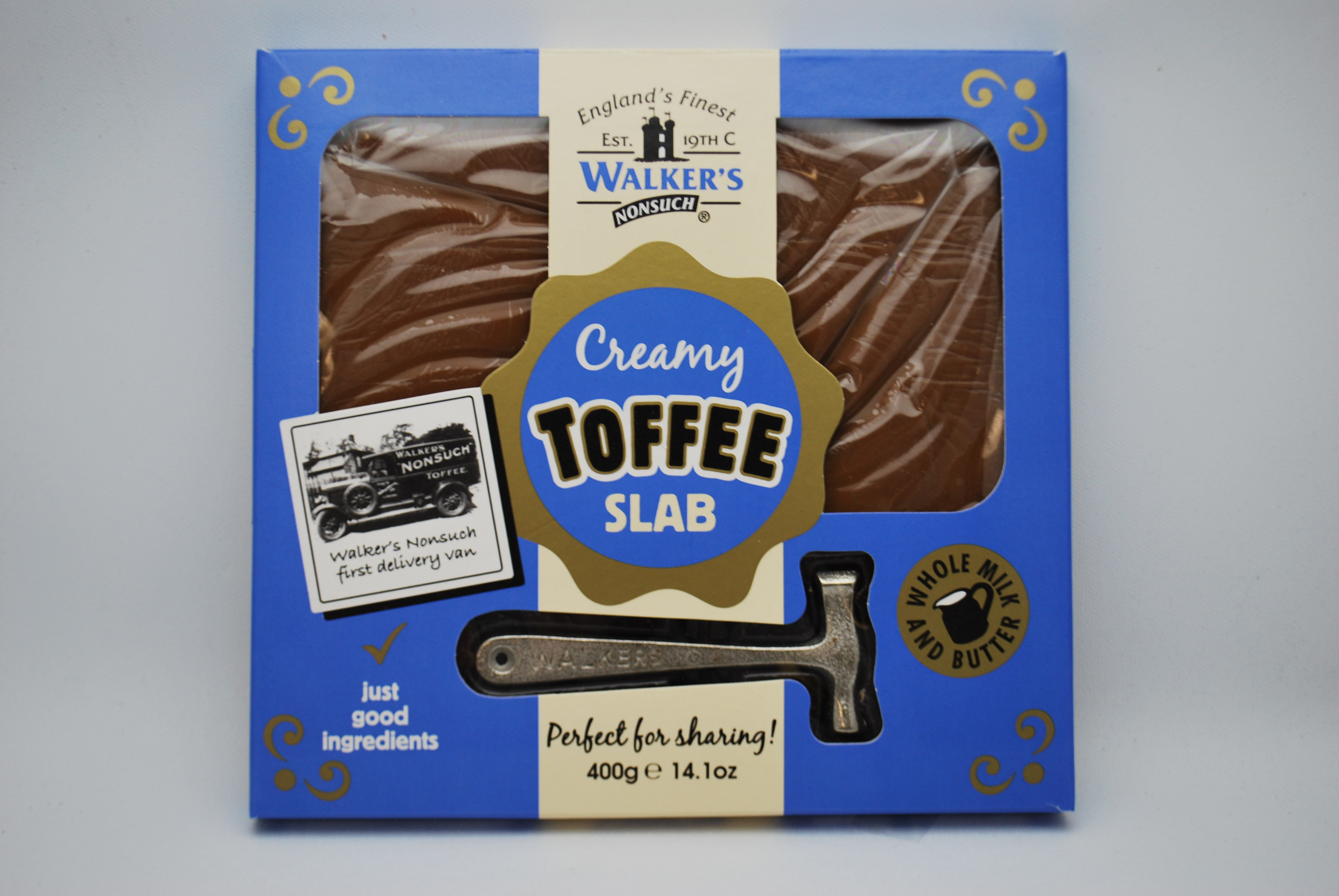Walkers Nonsuch Original Toffee Hammer Pack Aunty Nellie