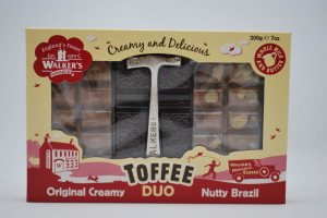 Walkers Nonsuch Toffee Duo Nutty Brazil