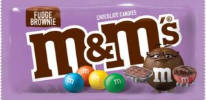 Fudge Brownie M&Ms